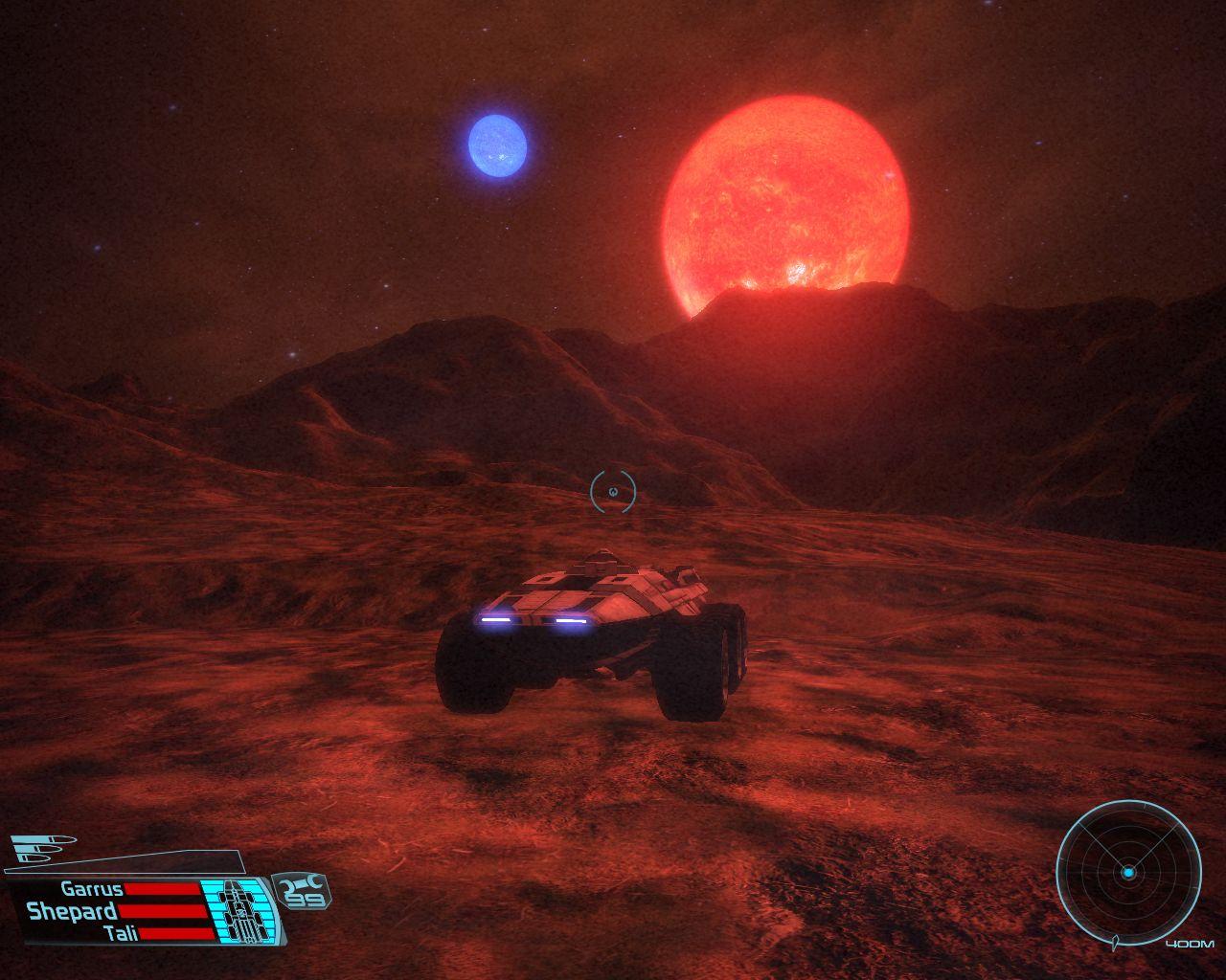 Le décor des planètes est la seule chose qui change dans les missions secondaires