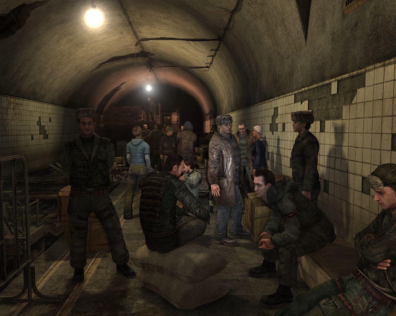 La population variée est une clef du graphisme de Metro 2033