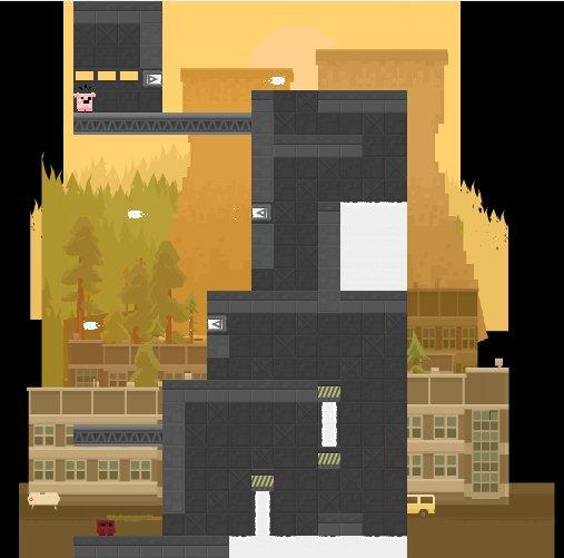 Un jeu de plate-forme en 2D, rien de plus classique...