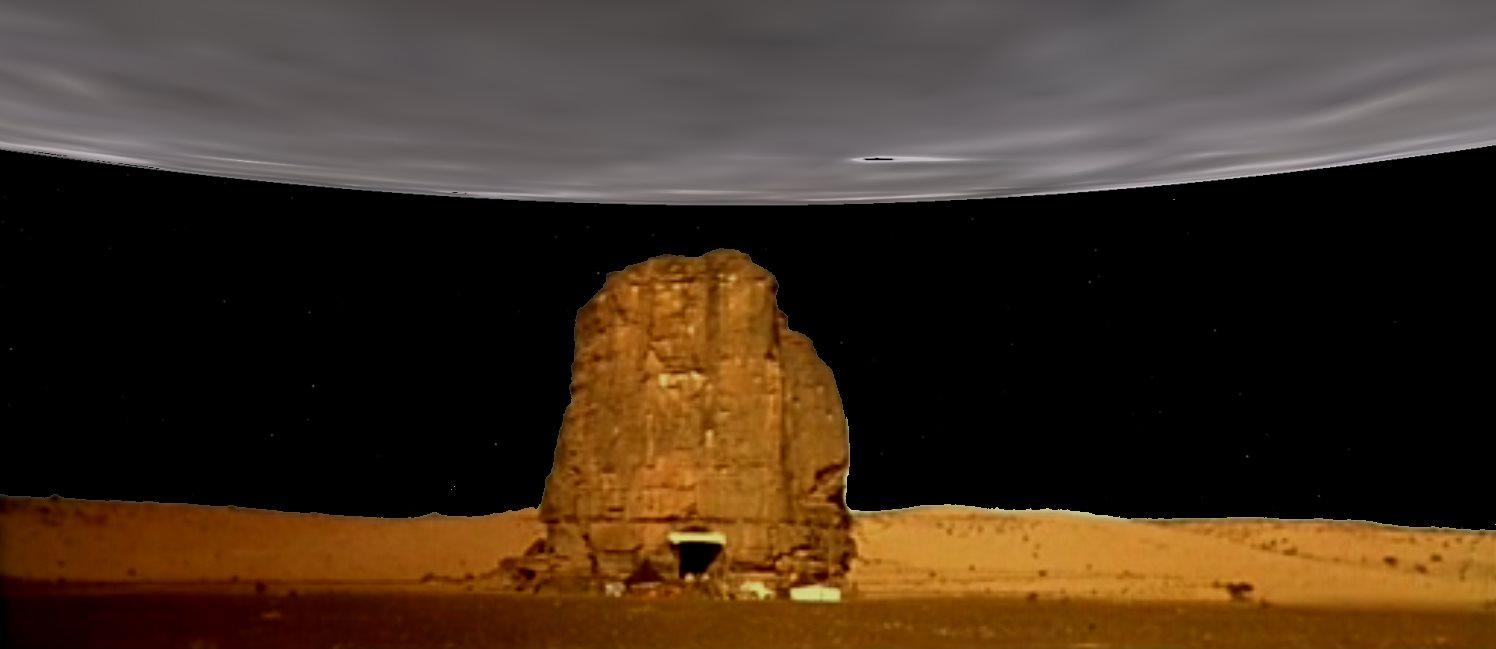Un astre de 2000km de diamètre à 60km au dessus...
