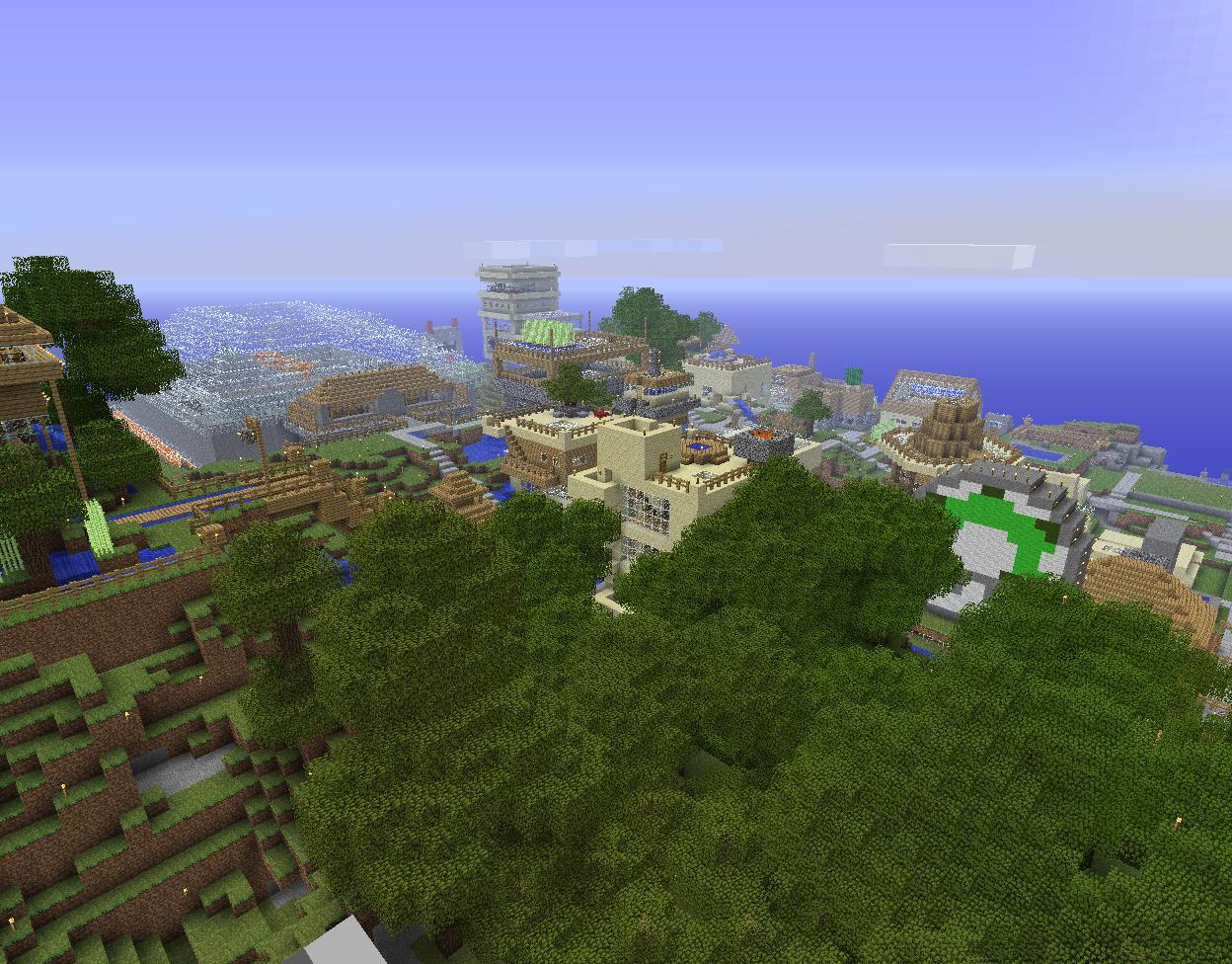 Ville construite par la communauté