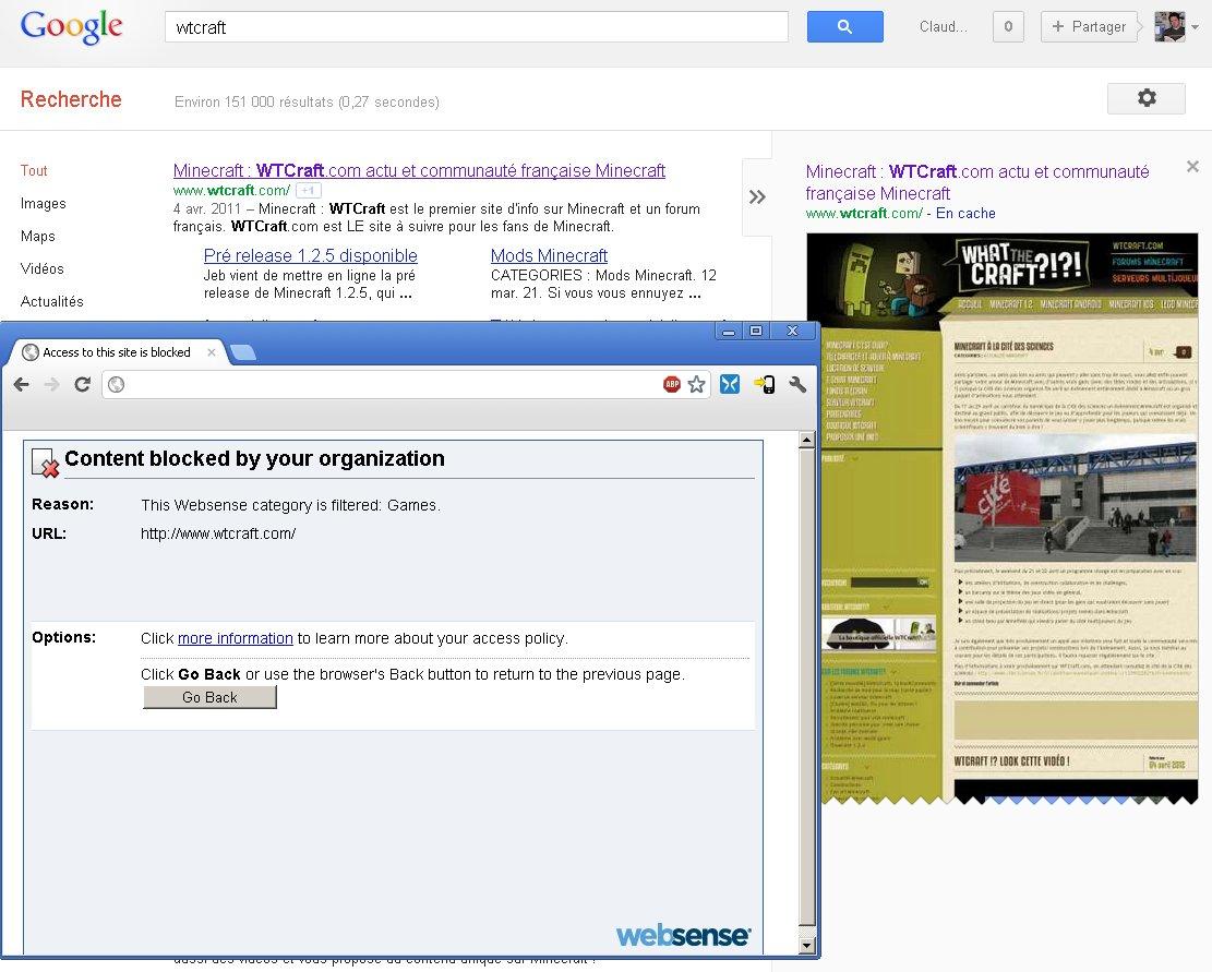 Google reste quand même le meilleur anti-proxy