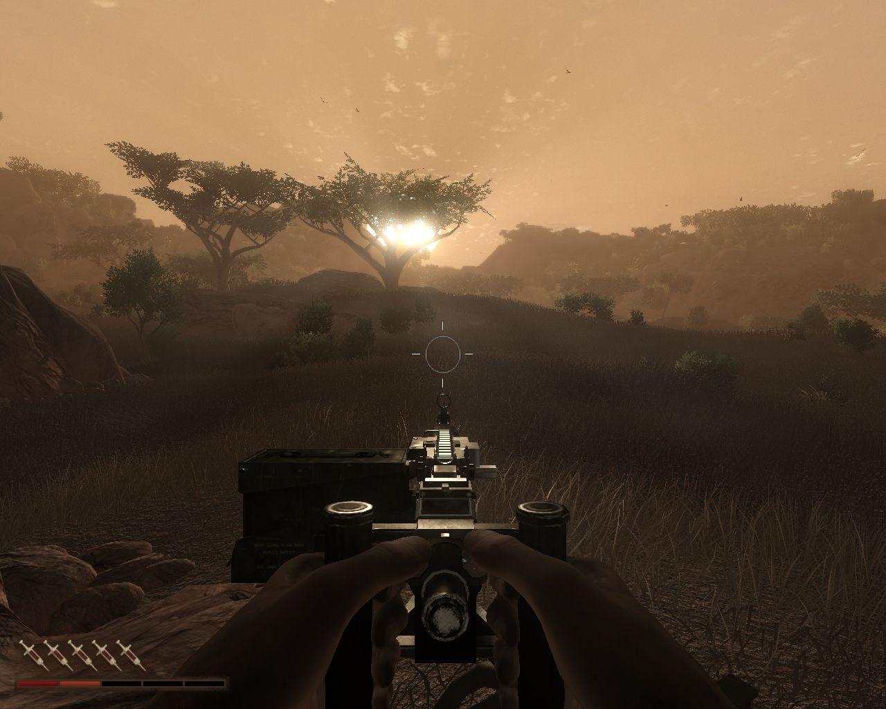Coucher de soleil dans Far Cry 2