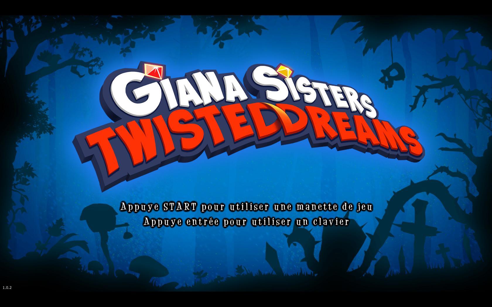 Vainqueur : Giana Sisters qui me propose directement de choisir mon support !