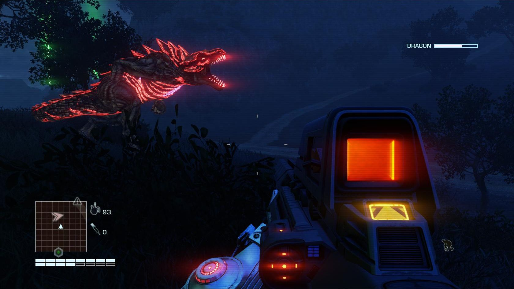 Je vous avais prévenu pour les néons !
